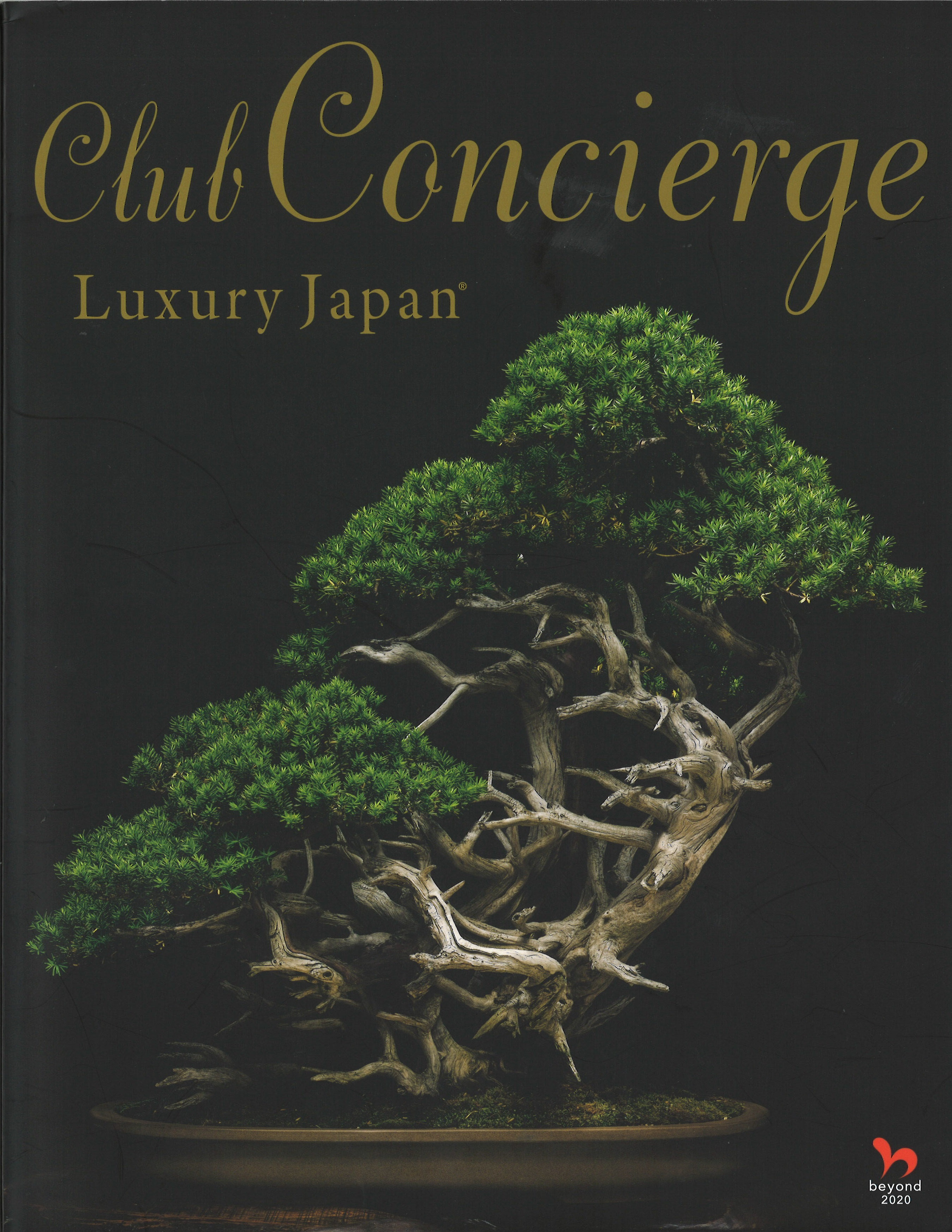Club Concierge Luxury Japan vol.02, 2018_表紙