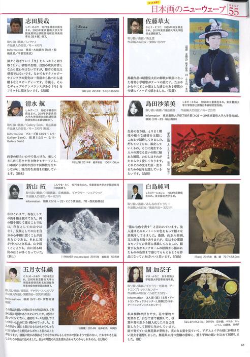 島田沙菜美記事_月刊アートコレクターズ2016年1月号