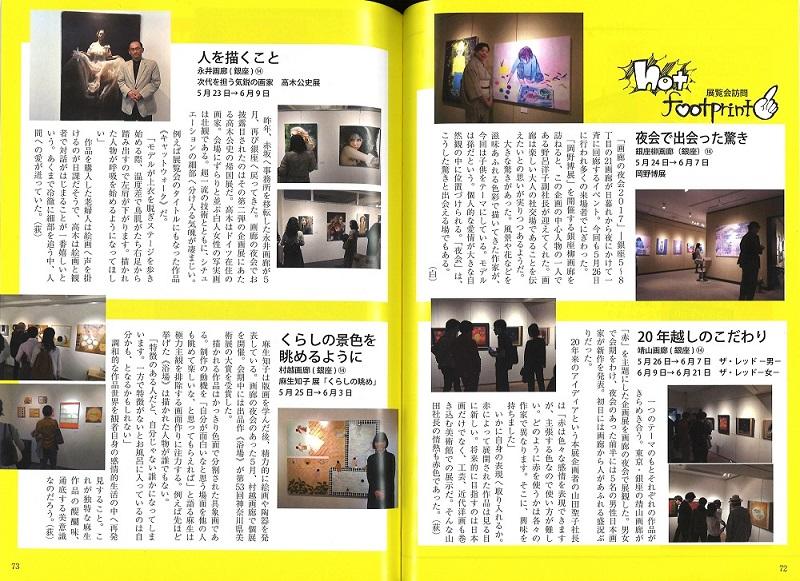 月刊ギャラリー7月号(ザ・レッドのレビュー記事) - コピー